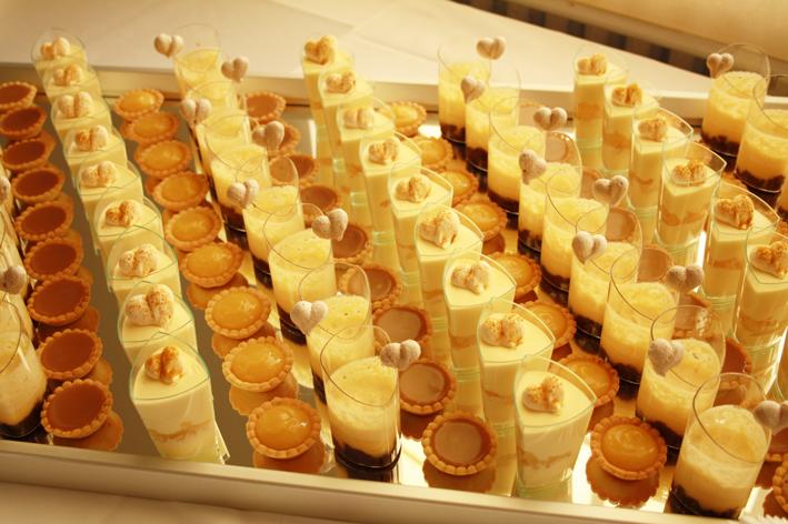 Sur commande - Dessert pour apero dinatoire ...